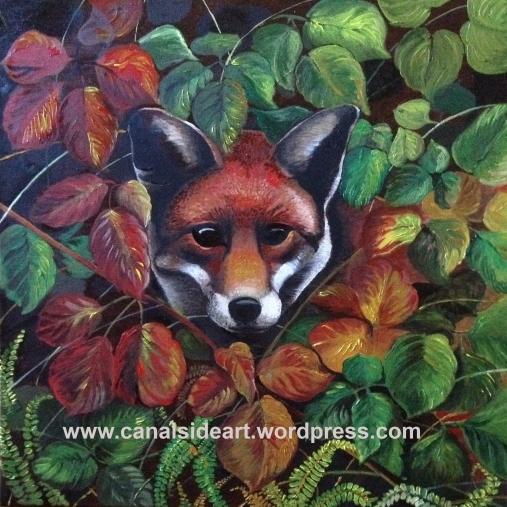 Fox in oils copy for web