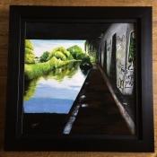 Under the Bridge framed