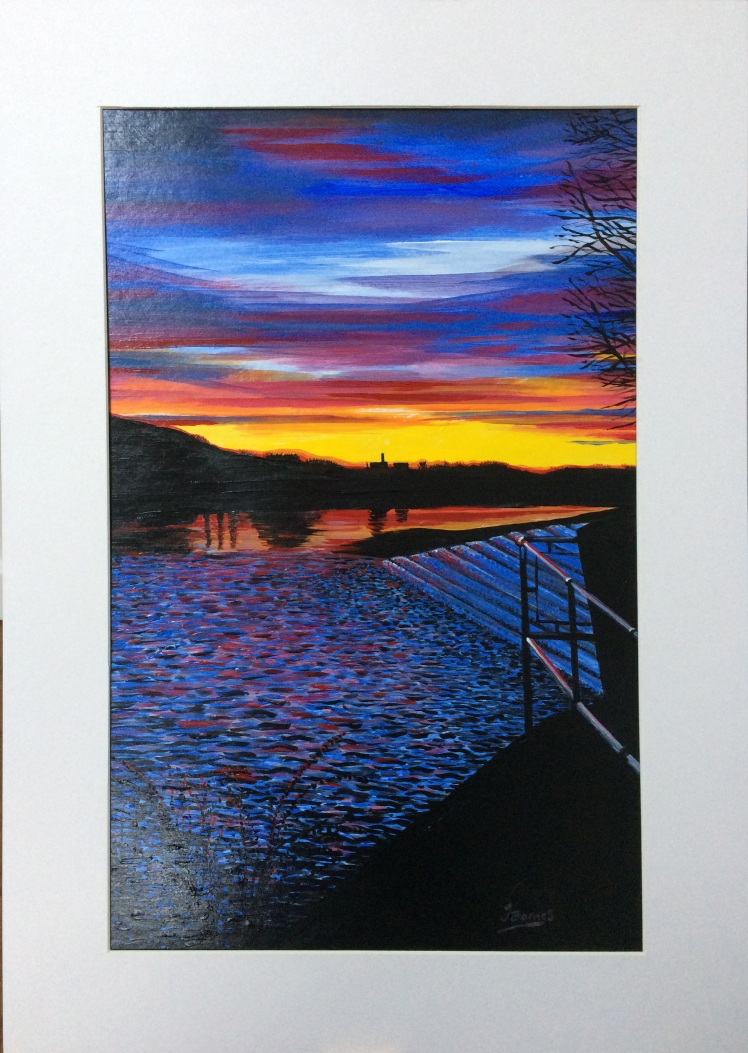 sunset-over-the-wier